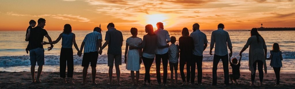 Family on the beach - Inheritance tax simplification