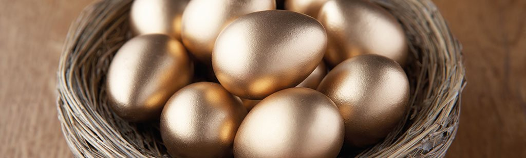Golden nest eggs - state pension age
