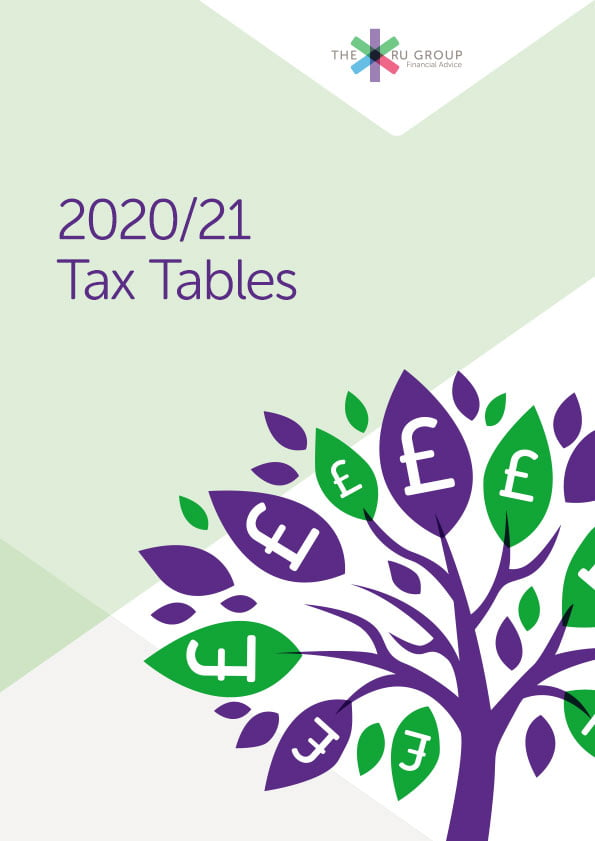 Tax Tables 2020 The RU Group