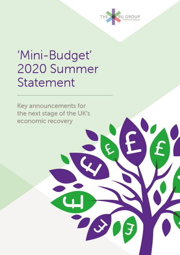 The RU Group Mini Budget Spring Statement guide July 2020